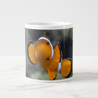 clownfish facing front large coffee mug