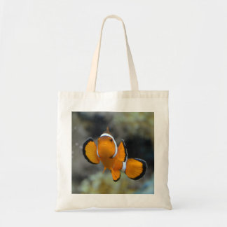 clownfish facing front tote bag