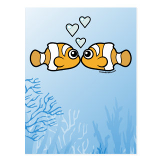 Clownfish Love Postcard