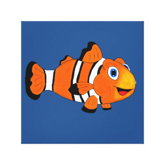 Clownfish Stretched Canvas Prints