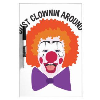 Clownin Around Dry Erase Board