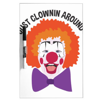 Clownin Around Dry Erase Whiteboards