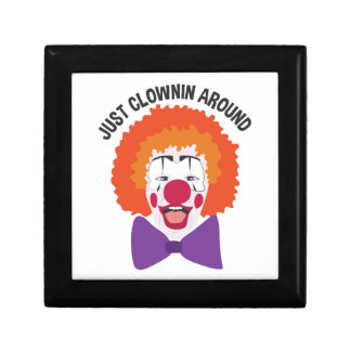 Clownin Around Gift Box