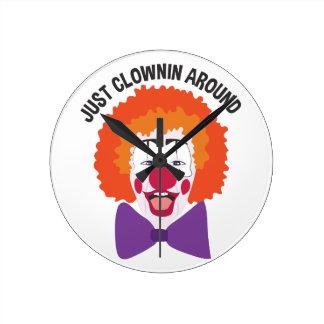 Clownin Around Round Clock