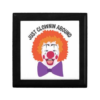Clownin Around Trinket Box