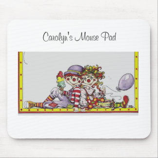 Clowning around, Carolyn's Mouse Pad