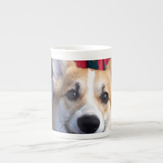 Clowning corgi photo mug