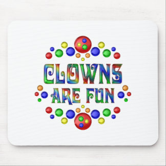 Clowns are Fun Mouse Pad
