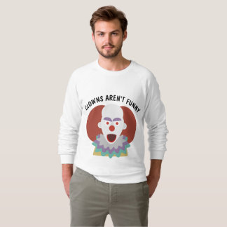CLOWNS ARE NOT FUNNY, Funny T-shirts
