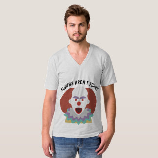 CLOWNS ARE NOT FUNNY, SCARY Evil CLOWN T-shirts