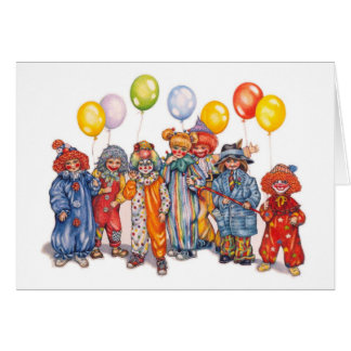 clowns card