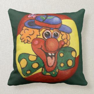 Clowns Throw Pillow