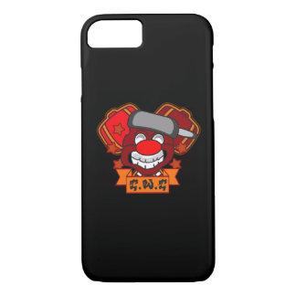 Clowns wear Crowns- Black iPhone 7 Case