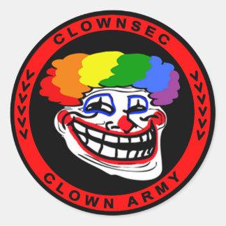 Clownsec Troll Sticker