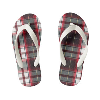 CLS Positively Plaid Flip Flops for KIDS