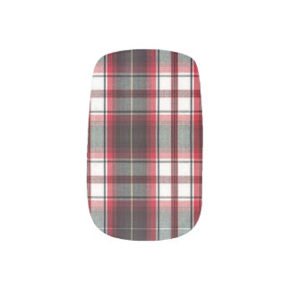 CLS Positively Plaid Nail Art