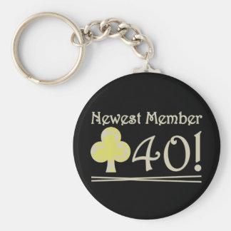 Club 40 keychain
