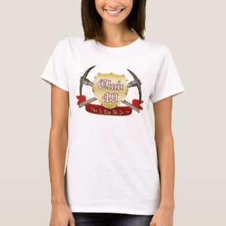 Club 49 Ladies Baby Doll (Fitted) T-Shirt