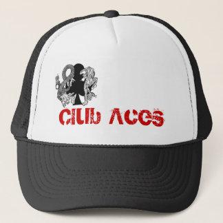 Club Aces Logo Trucker Hat