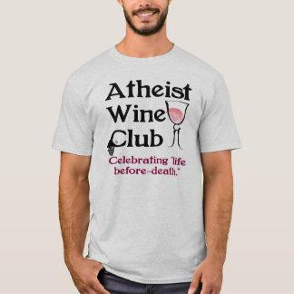 Club athée de vin t-shirt