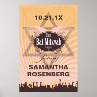 Club Bat Mitzvah Poster