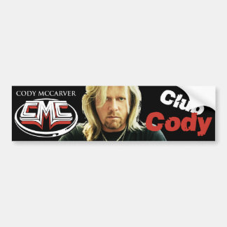 Club Cody Bumper Sticker
