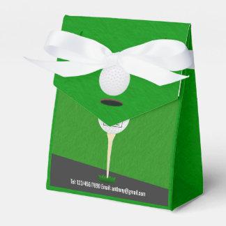 Club/Corporate Golf Tournament add logo Thank You Favor Box
