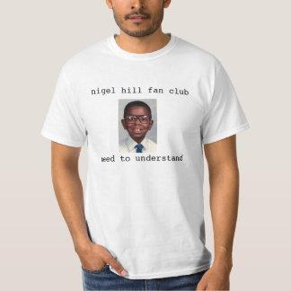 Club de fan de colline de Nigel (?) - l'original T Shirt