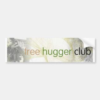 club de hugger d'arbre autocollant de voiture
