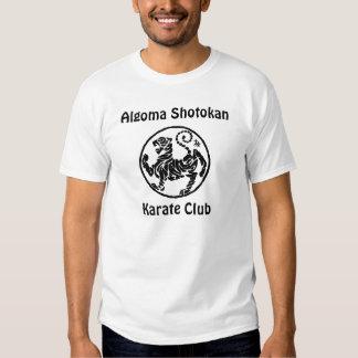 Club de karaté d'Algoma Shotokan Tee Shirts