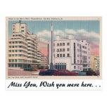 Club de la Paz Postcard