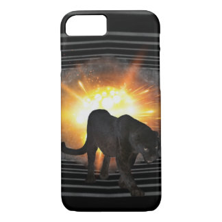 club disco DJ keyboard Black panther iPhone 8/7 Case