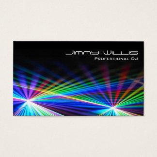 Club frais de lumière laser - carte de visite du