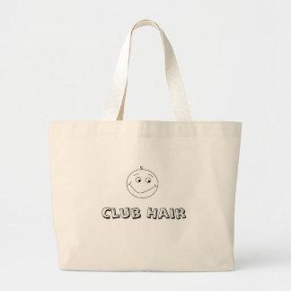 club hair front, Club Hair Jumbo Tote Bag