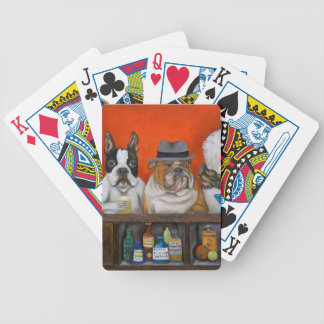 Club K9 Bicycle Playing Cards