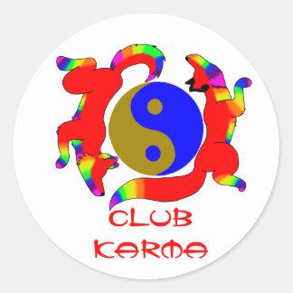 Club Karma Sticker