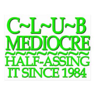 Club Mediocre Green Postcards