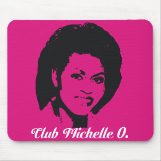 Club Michelle Mousepad in  Hot Pink