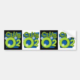 Club O2 Bumper Sticker