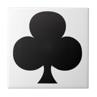 Club Poker Icon Tile