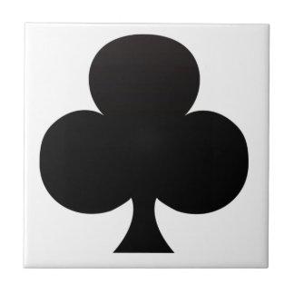 Club Poker Icon Tiles