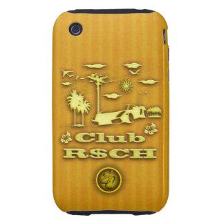 CLUB R CH Sports Car Tough iPhone 3 Covers