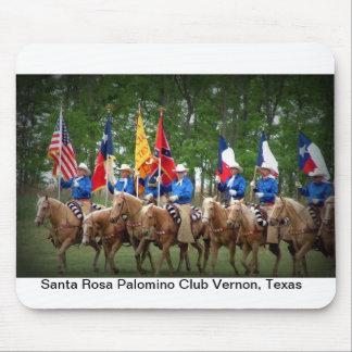 Club Vernon le Texas de palomino de Santa Rosa Tapis De Souris