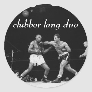 "Clubber Lang Duo ""broken jaw"" sticker set"