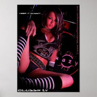 Clubbin'tv Keep it clubbin' Poster