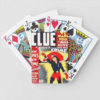 Clue Boy Bicycle Playing Cards