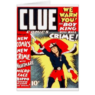 Clue Boy Card