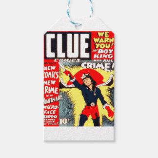 Clue Boy Gift Tags