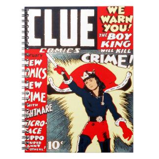 Clue Boy Notebook