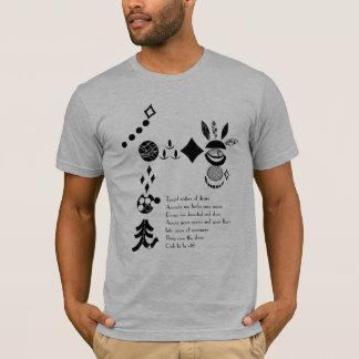 "Clues Band ""Elope"" Stencil & Lyric Shirt"